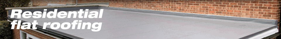 Residential Flat Roofing